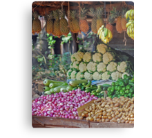 5 a Day Helps You Work Rest and Play Metal Print
