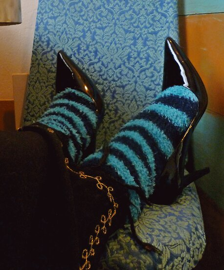 03-19-11: Shoes & Socks by Margaret Bryant