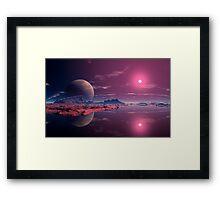 Alien Dawn Framed Print