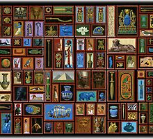 egyptian collage by David  Kennett