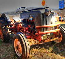 The Old Rusty Tractor by Chelei