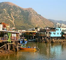Tai O Fishing Village, Hong Kong by Cindy Ritchie