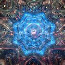 Diamond Latice Refraction by Hugh Fathers