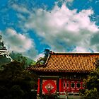 Big Budda and Temple by Drew Walker