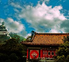 Big Budda and Temple by Andrew Walker