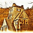St Mary's Church, Betws-y-Coed. North Wales by Graham Southall