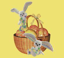 Easter Bunnies by LoneAngel