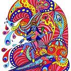 Shiva Surfing by signaturelaurel