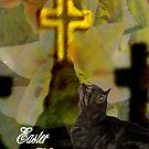 Easter Blessings,card by MaeBelle