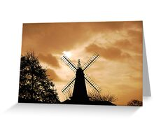 West Blatchington Mill Greeting Card