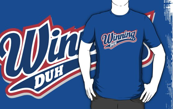 Winning Duh by DetourShirts