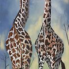 Giraffes by CaDra