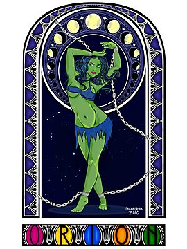Trek Nouveau ~ Orion Slave Girl by merrypranxter