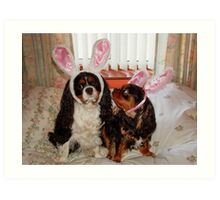 My Easter Bunnies !!! Art Print