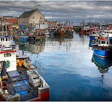 Pittrnweem Harbour by Bill McKenzie