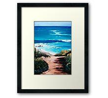 Mornington Peninsula Beach Framed Print