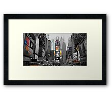 Iconic NY City  Framed Print