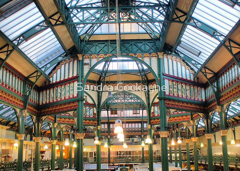 Kirkgate Market Rooftop Interior by Sandra Cockayne