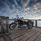 Harley Davidson - 2008 Screaming Eagle- Leschenault Inlet WA by Chris Paddick