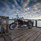 Harley Davidson - 2008 Screaming Eagle- Leschenault Inlet WA by Chris Paddick