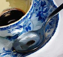"""Blue Cup"" by Patti Siehien"