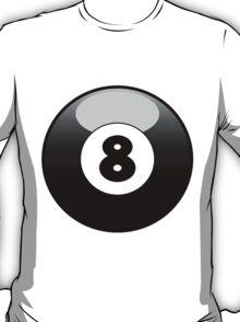8 ball design T-Shirt