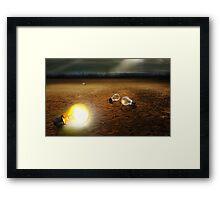 Light On Framed Print