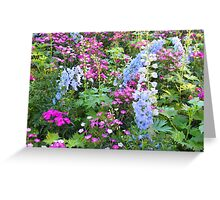 Symphony Of Flowers Greeting Card