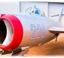 Mikoyan Gurevich MiG-17F by Charles Dobbs Photography