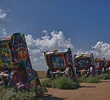 Cadillac Ranch, Amarillo, Texas by E. Danny Suhendar