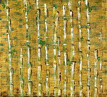 Bamboo & Koi by Tara  Henry