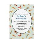 Monkey birthday invitations by Wahlex