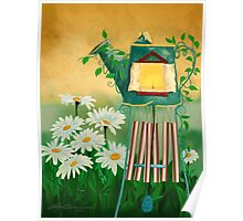 Garden Light with Chime Poster