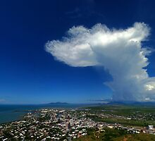 Townsville - Summer storm brewing by Paul Gilbert