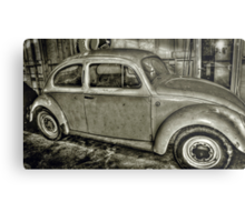 Beetle in a Shed..... Metal Print