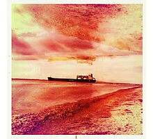 Ships Passing Through- Series No.1 Photographic Print