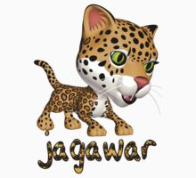 Children's Jaguar T Shirt - Child Speech Jagawar by Moonlake