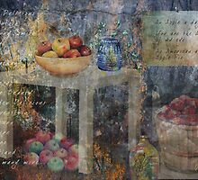 Apple Montage by arline wagner