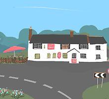 Crown Pub by Nigel Silcock
