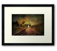 Shadows of the past........ Framed Print