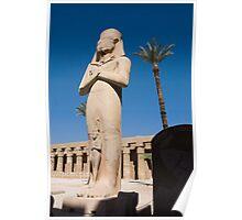 Karnak Statue Poster