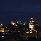 Edinburgh at night by Matthias Keysermann