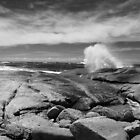 The iconic Bicheno Blowhole by Hayley Joyce
