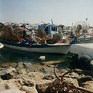 Pelican on boat by ASSA