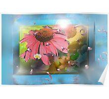 Flower shadowbox Poster