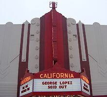 Fox Theater, Salinas, CA Marquis by Sandra Gray