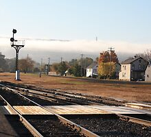Port Jervis Train Station by Melissa Ann Blair