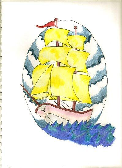 Sail Away by kellaybaybay