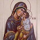 Mother of God 1 by Blagojce Petrovski