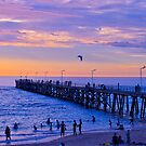 Port Noarlunga Jetty @ dusk by Ali Brown